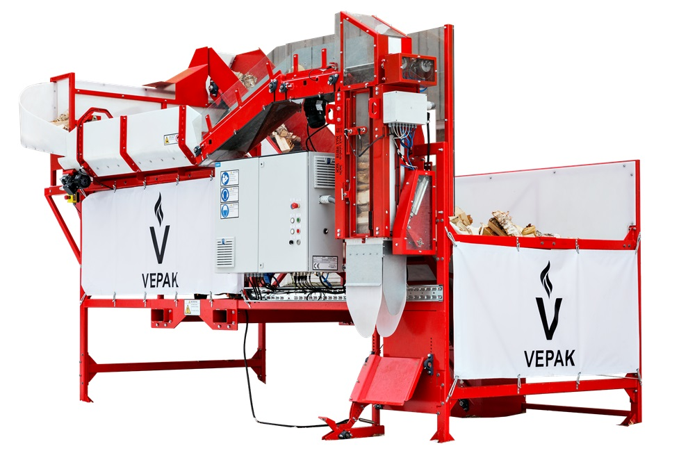 VEPAK firewood packing machine